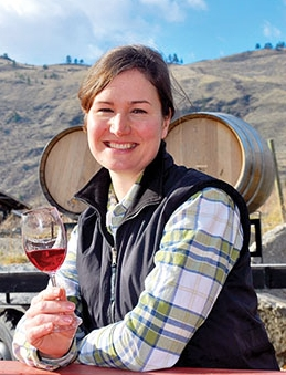 Amber Pratt  Winemaker