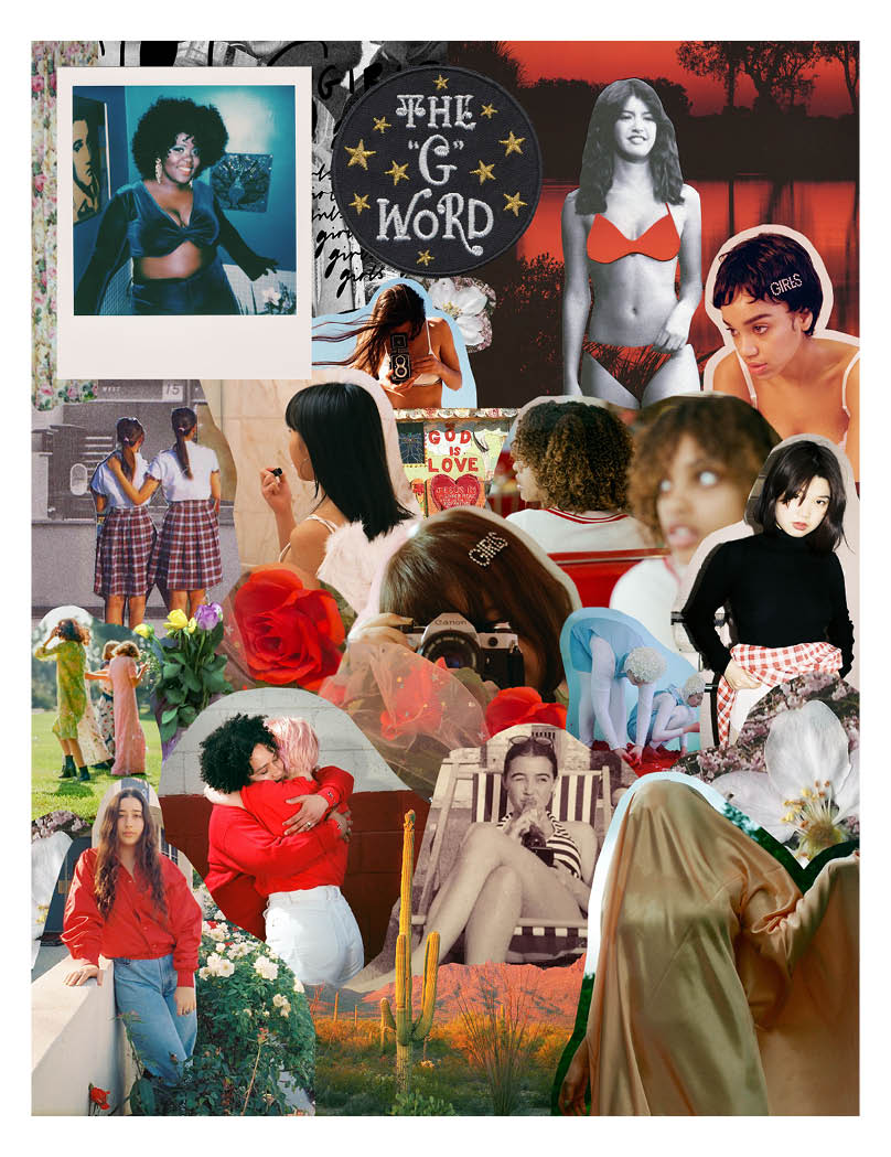 Cover art, a collage I made from some of the submissions.