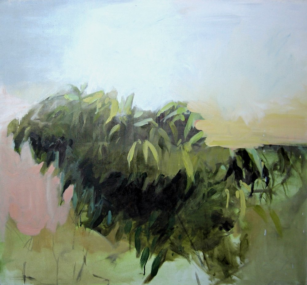 "Orchard 32""x35"" 2012"