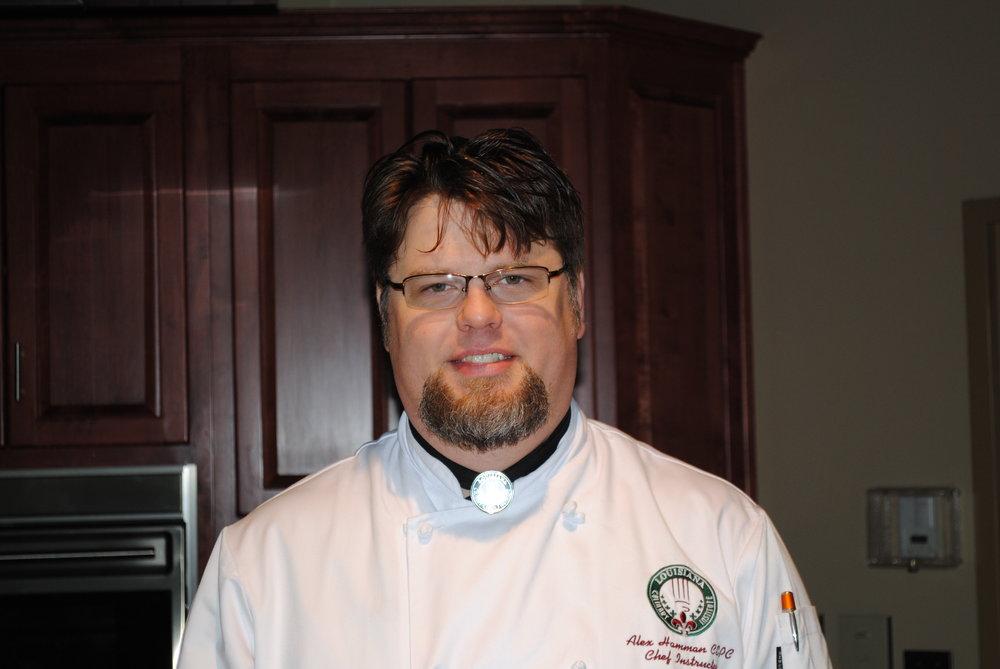 Chef Alex Hamman, Louisiana Culinary Institute