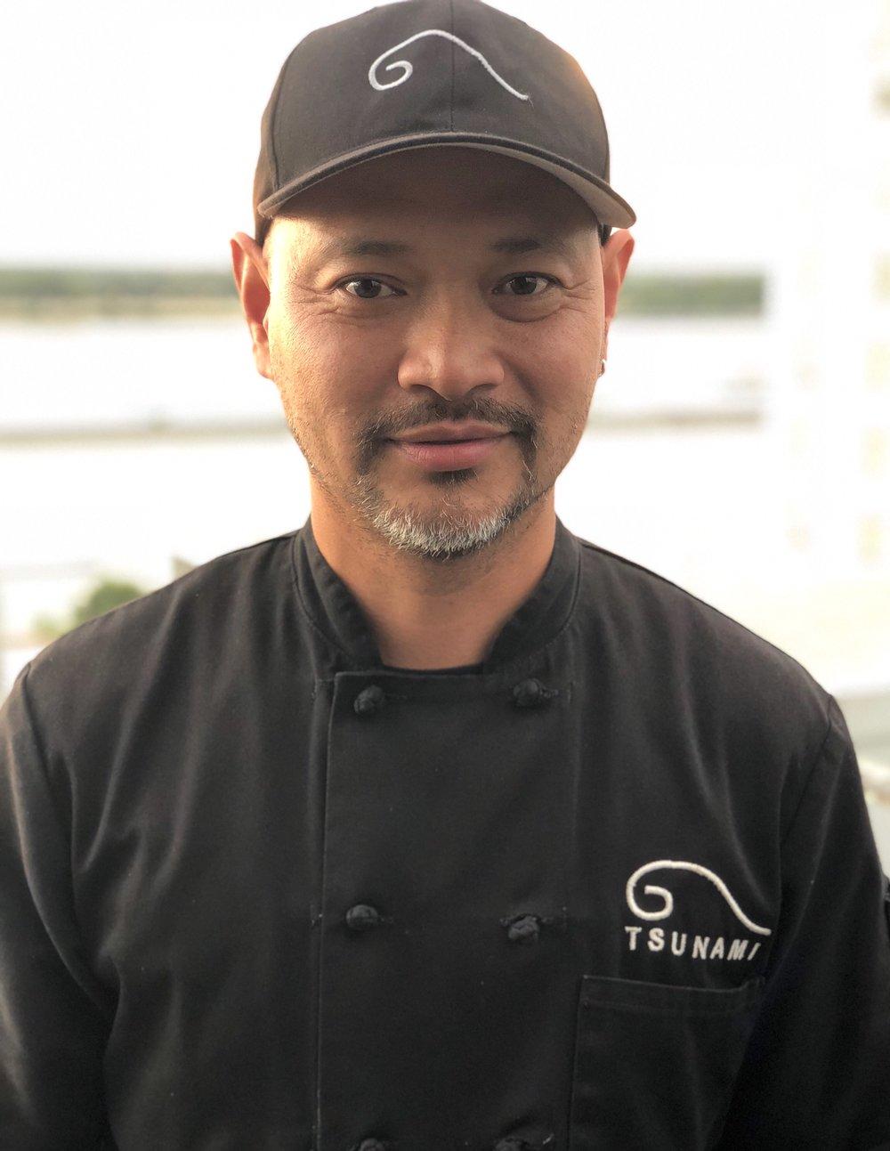 """Copy of Chef Kiet """"Ricky"""" Hoang, Tsunami"""