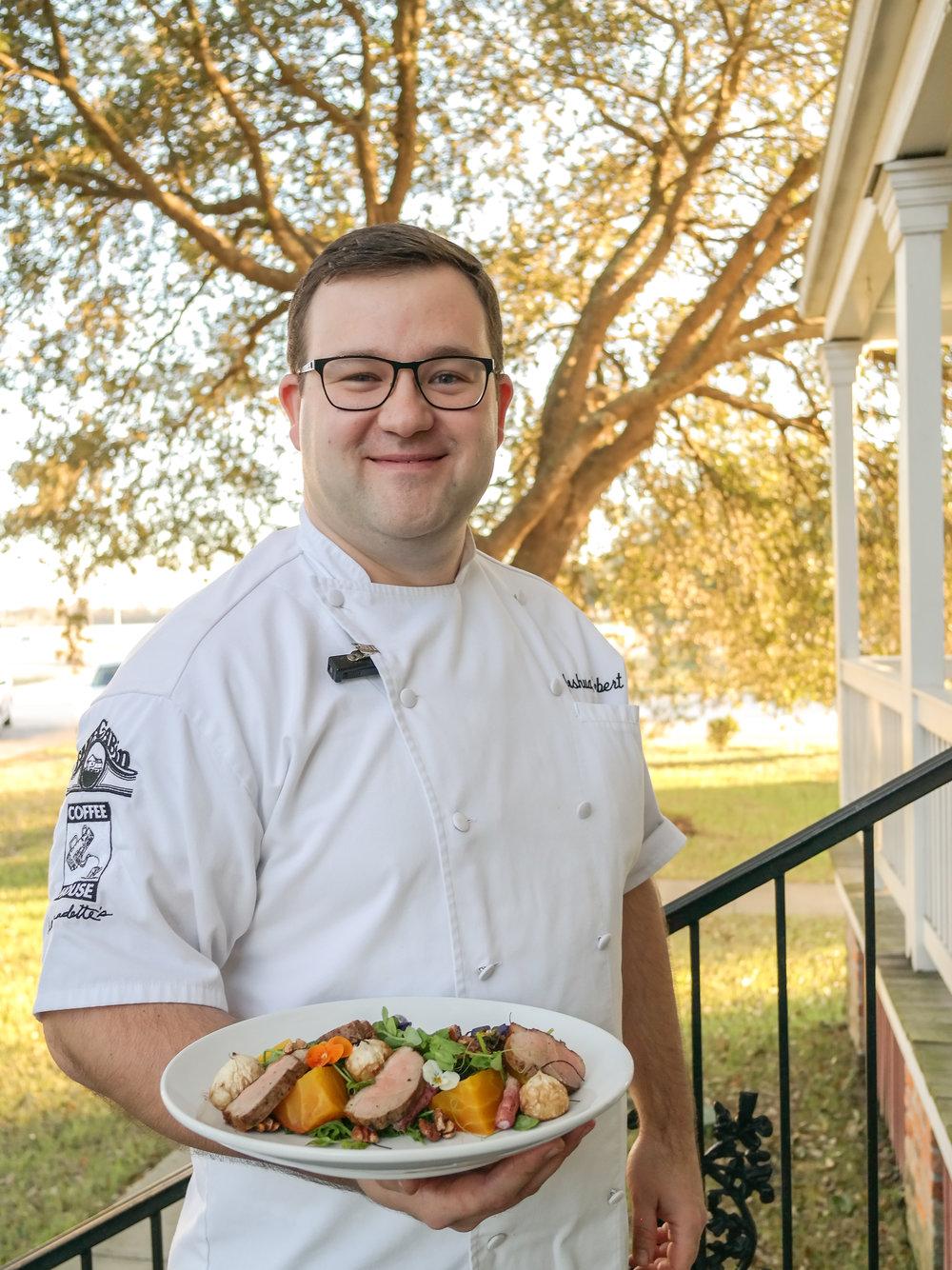 Chef Joshua Hebert, The Cabin Restaurant and Events