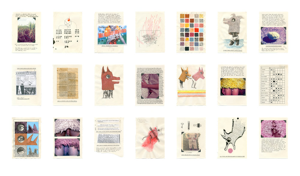 Select Pages from the fieldnotes of Dr. Tobias Box, Anthrozoologist