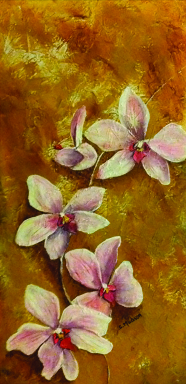 a gift of orchids for dorothy © Shauna Madsen