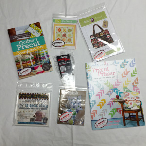 Charm Pack-friendly patterns and books.