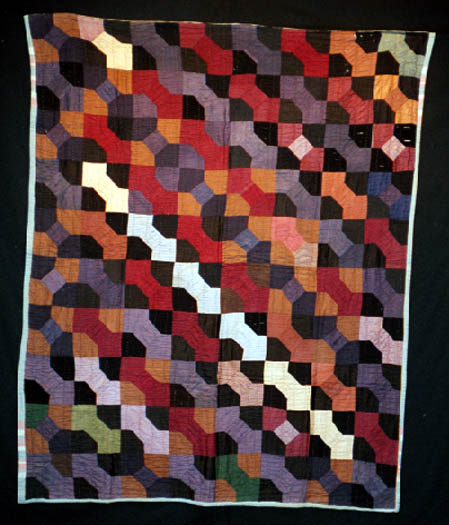A Bow Tie quilt from the 1930's.