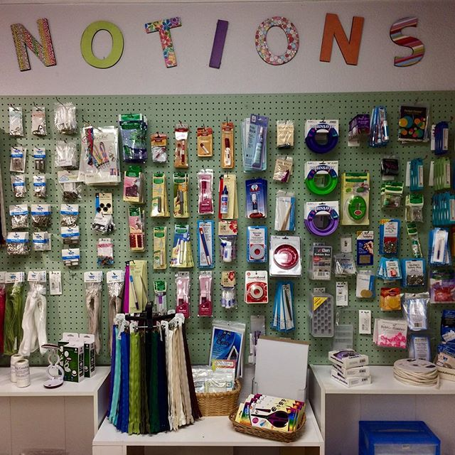 We have a large selection of notions so come on by and find the exact notions you need. #sewingnotions, #sewing, #sewinginLasCruces, #besewcreative