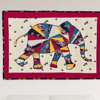 PAPER PIECED ELEPHANT QUILT This adorable elephant quilt is sure to be the center of attraction in your home. Using your paper piecing skills and your Baby Lock sewing machine as your tool you are sure to have fun creating this project. After you have completed piecing the quilt, take it to the Baby Lock Tiara Quilting machine where you can quilt like a pro. Stop by the store today for all the materials you will need. Shared from Diane Kron. https://babylock.com/learn-and-create/projects/elephant-quilt #quilting #quiltinginlascruces #wheretoquiltinLasCruces #quiltingproject
