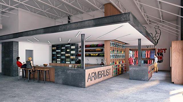 Not quite the same angle but progress at Armbrust! #mod #architecture #design #developer #denvercolorado #denver @armbrustprogym @armbrustdylan @millworkbymod