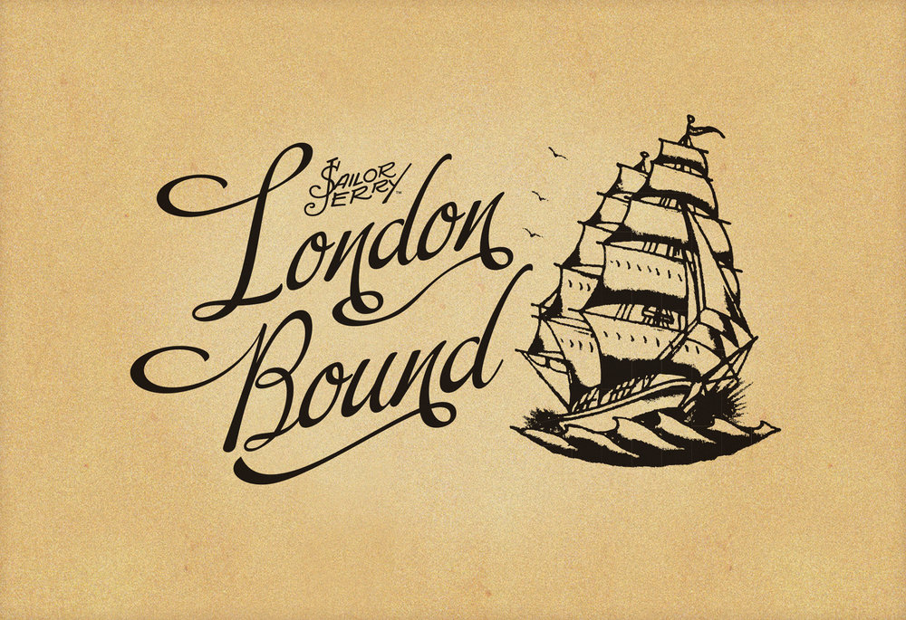 Sailor Jerry London Bound logo
