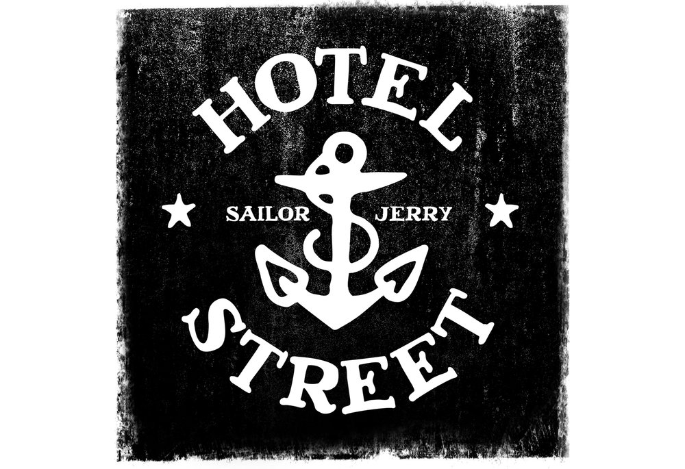 Sailor Jerry Hotel Street logo
