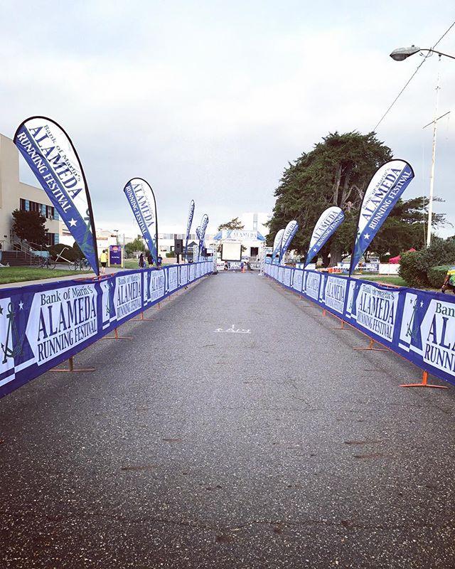 Race day! #5k #runalameda #alamedapoint #alameda #alamedarunningfestival