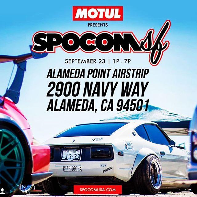 SPOCOM returns to Alameda Point! . #spocomsf #spocom #spocomusa #importautopros #carshow #alamedapoint #alameda #california