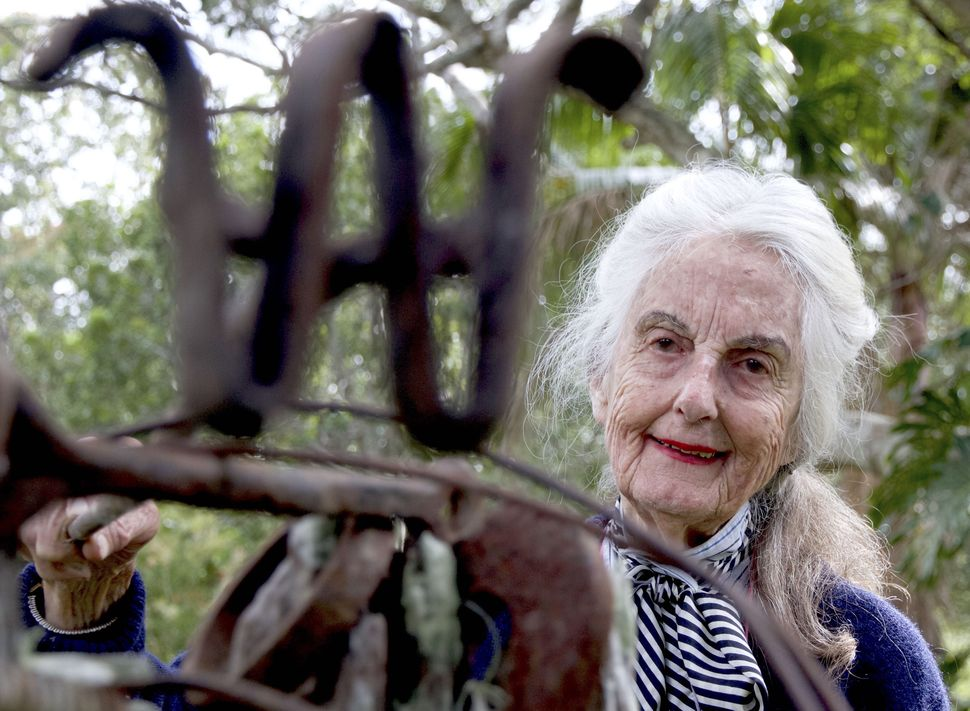 "Image: Rosemary Waugh Allcock on her property in Taloumbi, courtesy of Invisible Farmer ABC Open Tribute, ""Portrait of a Lady"", Taloumbi, NSW, submitted by Debrah Novak (tribute author and photographer), available:  https://open.abc.net.au/explore/108722"