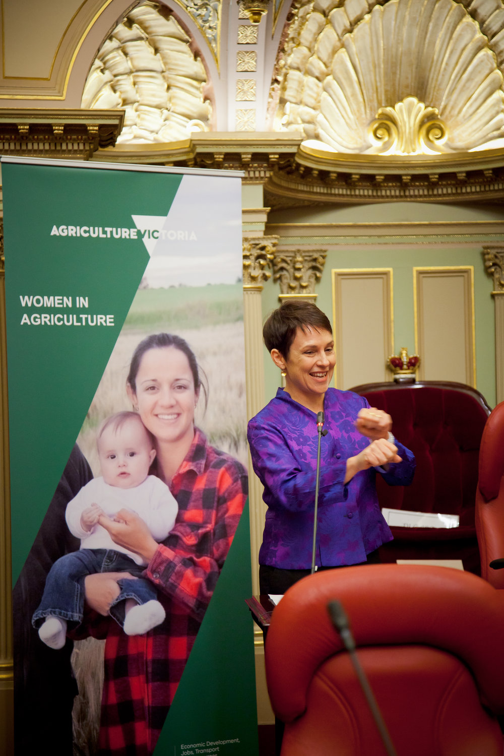 The Hon. Jaala Pulford at the 2017 Women in Agriculture Forum