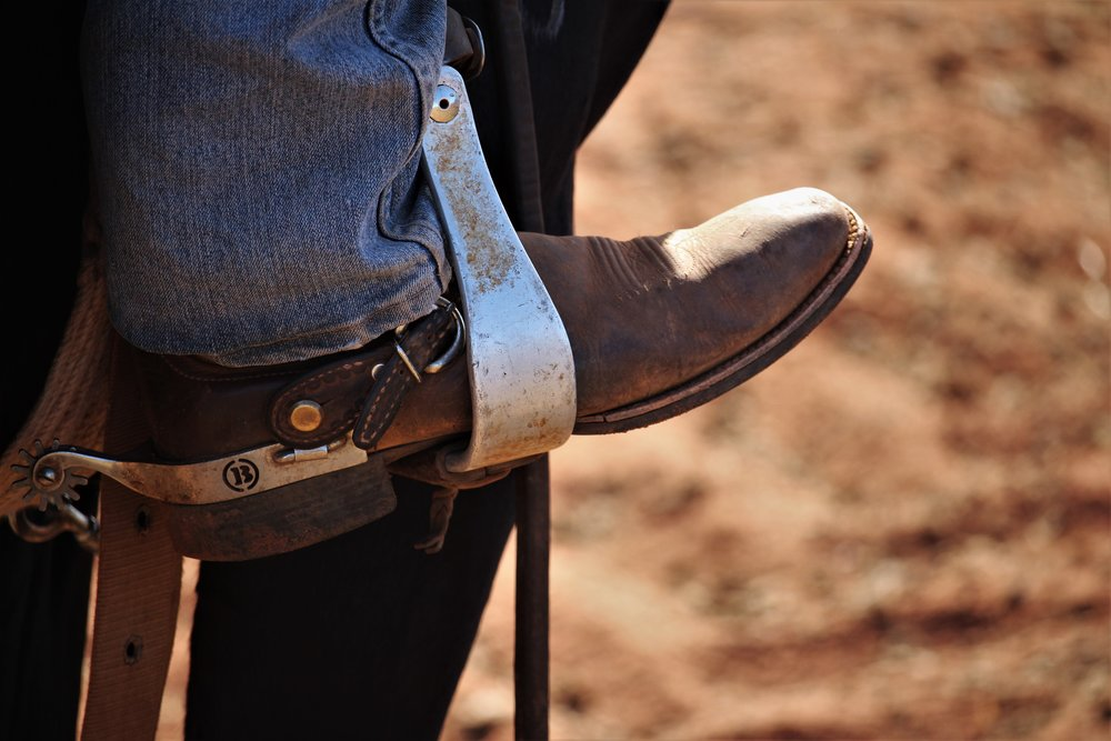 """Boots and spurs"" by Emma Moss, Photograph: supplied."