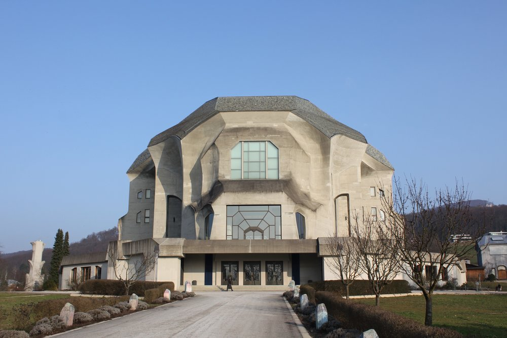 The Goetheanum in Switzerland where Ileen joined the Experimental Circle. Sadly illness prevented Ileen from travelling to the Goetheanum. Image supplied by John Paull.