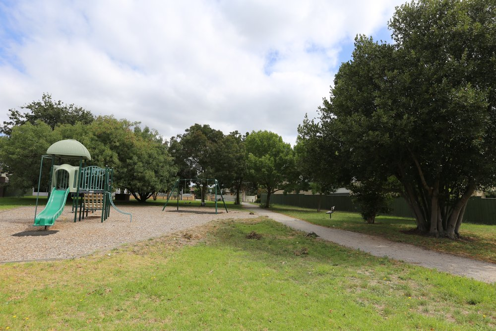 The Ileen Macpherson Park in Noble Park, Image supplied by John Paull.
