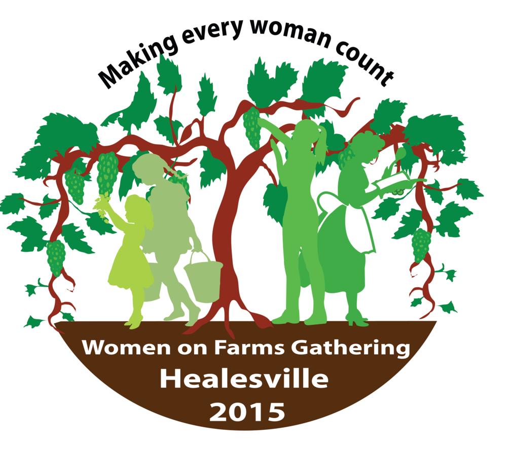 Healesville Gathering logo, 2015.