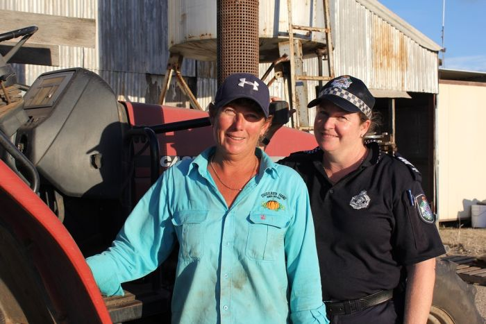 Belinda (left) and Michelle (right), image supplied, ABC Rural,  http://www.abc.net.au/news/rural/2017-05-12/invisible-farmer-pumpkin-growers-bowen/8521384