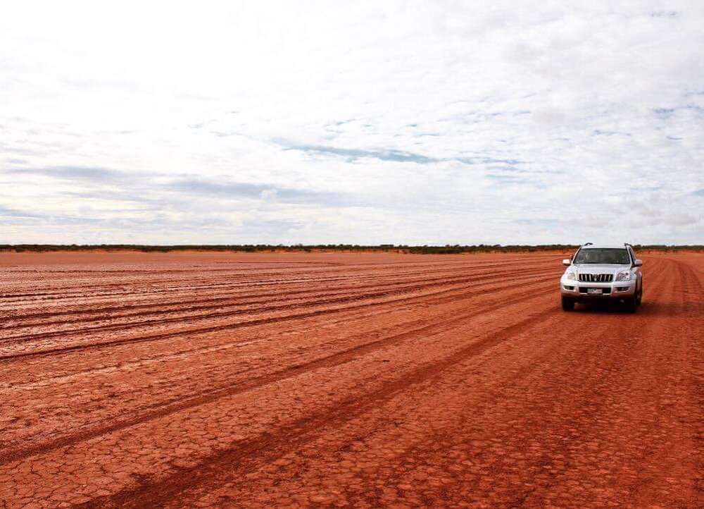 A road trip photo from Laura's travels in the New South Wales Outback, Clay Pan, image supplied by Laura Lewis.