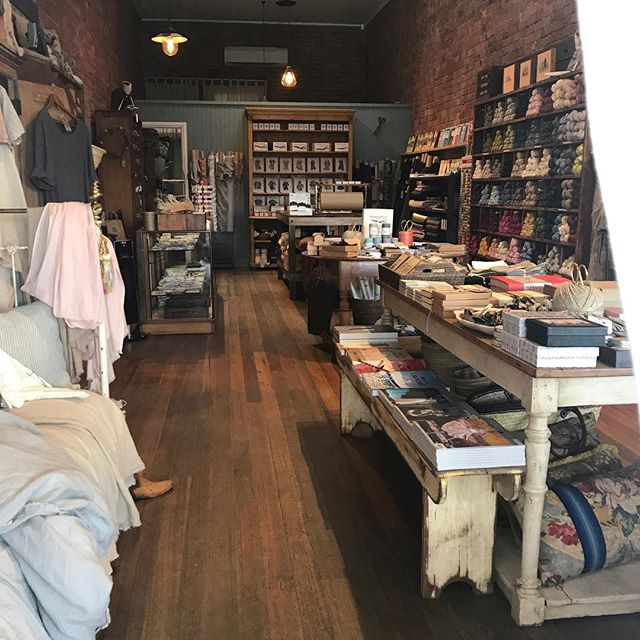 Throw back to my dear haberdashery brick & mortar store in the gorgeous town of Daylesford, Victoria...where it all began....🖤...nearly a year ago I moved home to NZ and now operate as an online store from my studio in my hometown, the creative and beautiful river city, Wanganui. We still sell the same beautiful @merchantandmills cloth and sewing tools and offer free shipping on all orders within NZ and Australia over $100. Link to online store in bio. Happy making everyone! And ps; I miss you Australia 🖤 #haberdashery #newzealand #sewing #handmade #dressmaking #fabric #drapery #online #store #linen