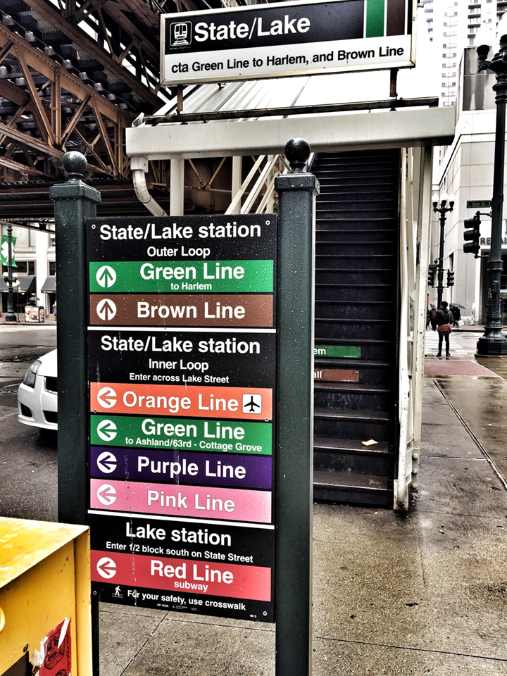 Brown Line, please!