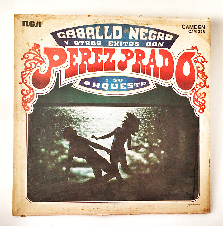 Perez Prado, Caballo Negro, 1969, front