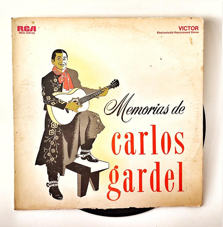Memorias de Carlos Gardel, 1964, front