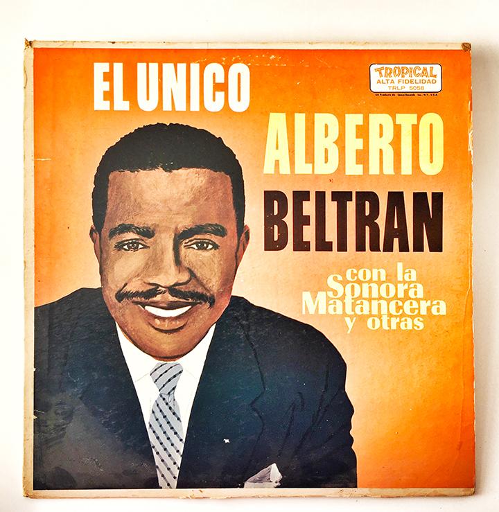 Alberto Beltran con la Sonora Matancera, El Unico, 1961