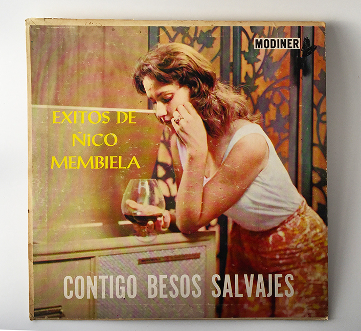 Ñico Membiela, Exitos de (Contigo Besos Salvajes), front