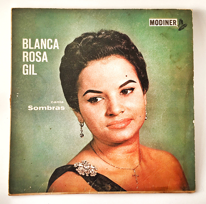 Blanca Rosa Gil, Sombras, front
