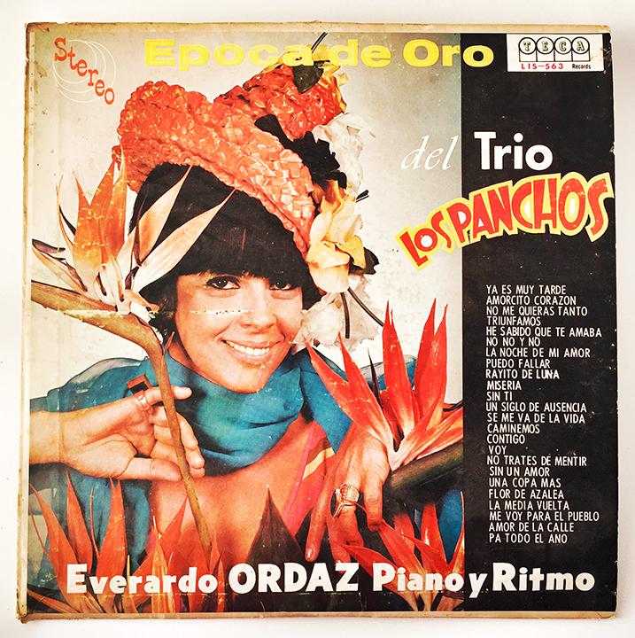 Epoca De Oro, del Trio Los Panchos, front