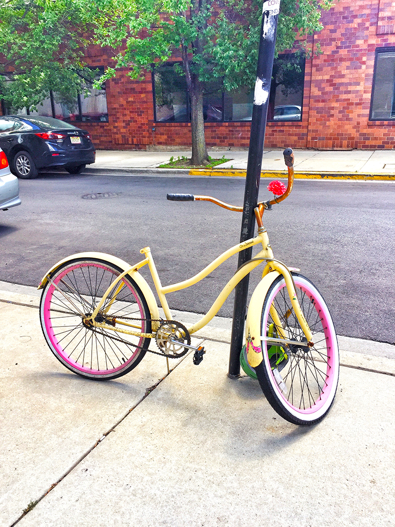 Pink & Yellow Ride
