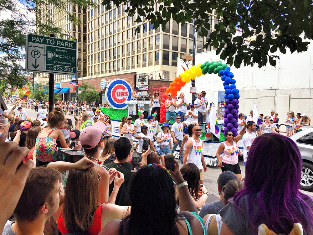 Chicago Cubs Pride Float