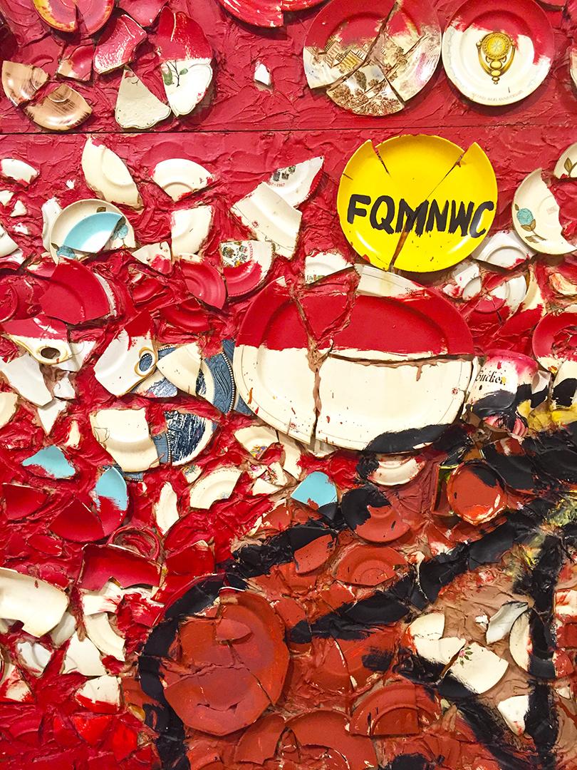 Detail of Claudio al Mandrione (zona rosa)