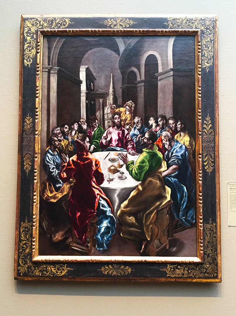 The Feast in the House of Simon, El Greco, 1608/14, Oil on canvas.