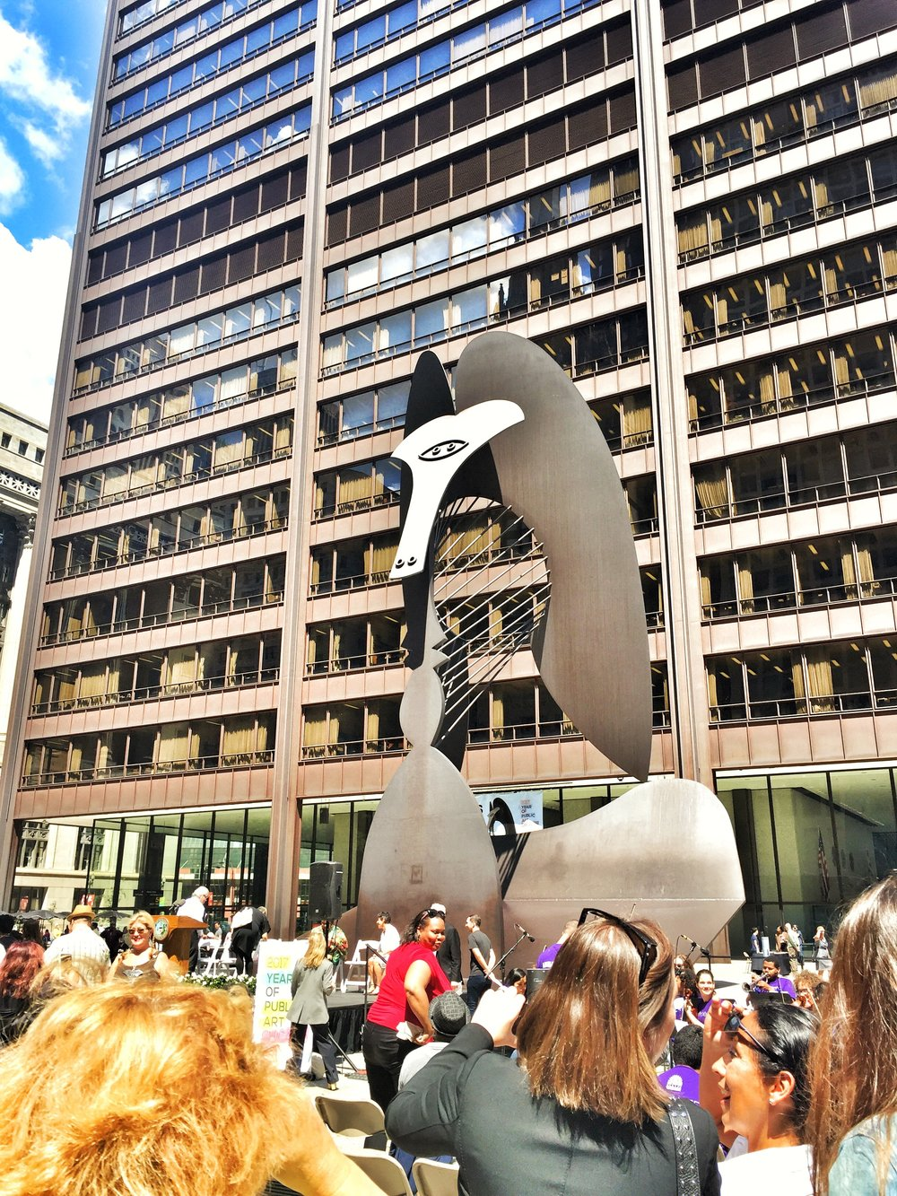 This Picasso sculpture is particularly popular!