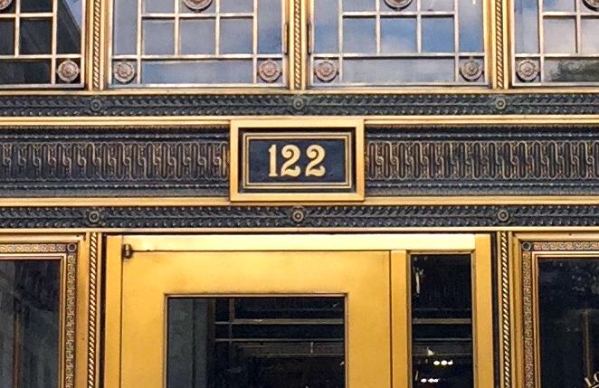 122 South (detail)
