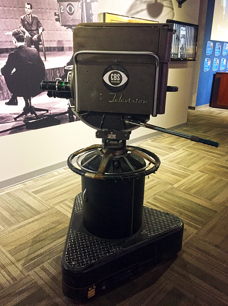 'The Great Debate' TV Camera
