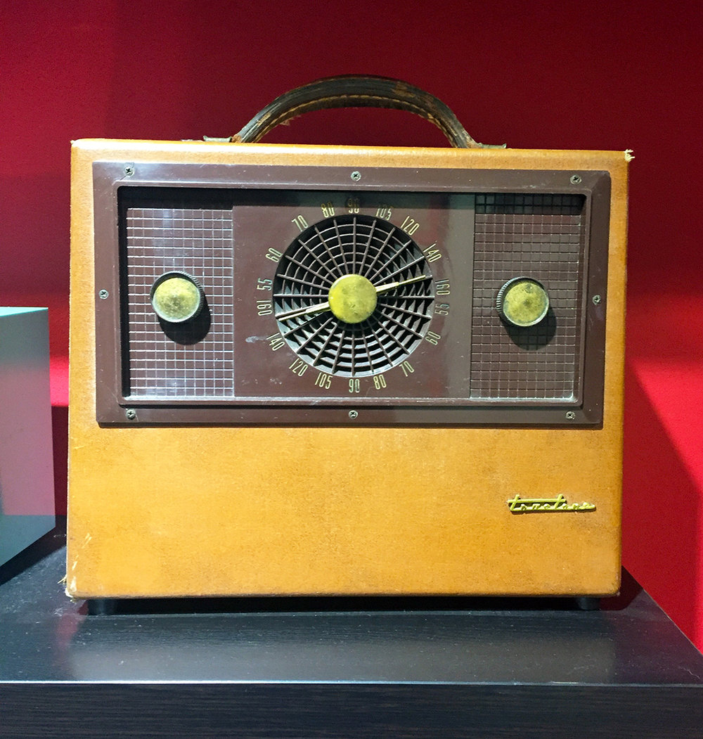 Mid-1950's Trutone Portable Radio