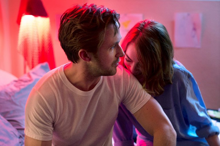 "Ryan Gosling and Emma Stone in ""La La Land."" Photo Credit: Dale Robinette/Lionsgate"