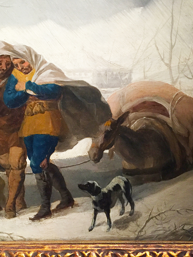 Winter Scene (detail)