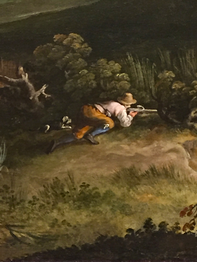 Landscape with Hunters (detail)