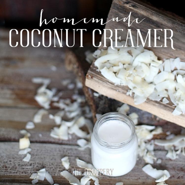 Homemade Coconut Creamer