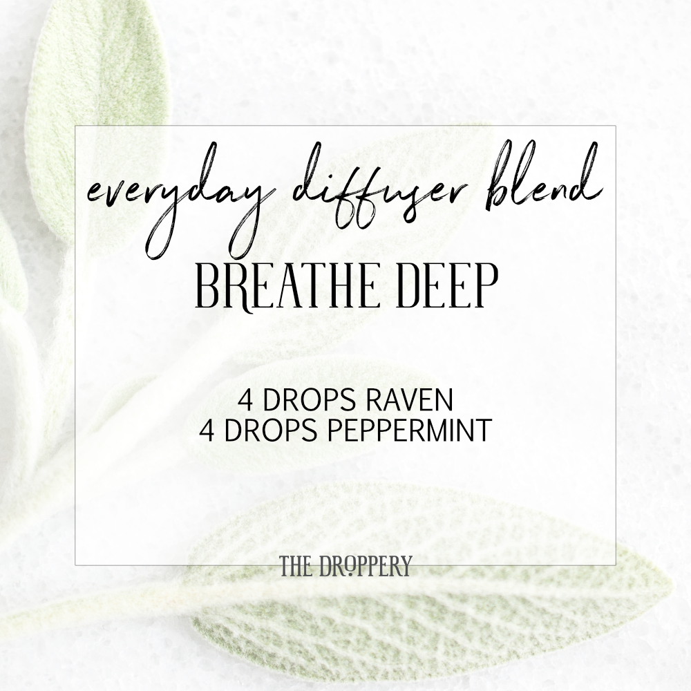 You'll be taking nice deep breaths as you diffuse this one!