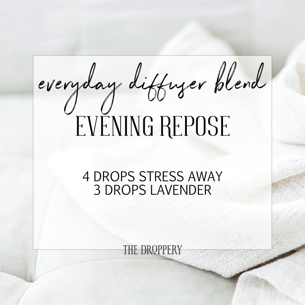 Diffuse this starting 30 minutes or so before bed and enjoy melting into a deep, rejuvinating sleep.