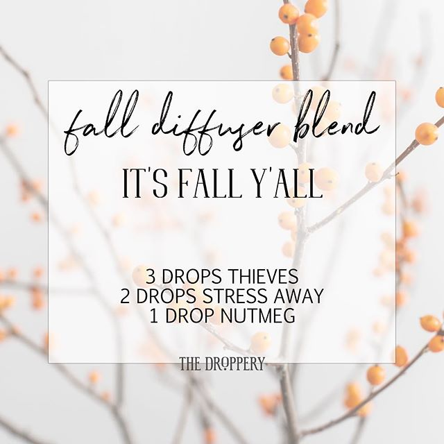 🍁 Here's a fun spin on this one: swap out the Thieves for Cinnamon Bark and add a drop of Neroli. Fall smells GOOOOOD!!!