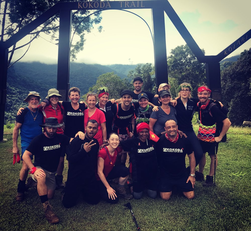 The Kokoda+ team
