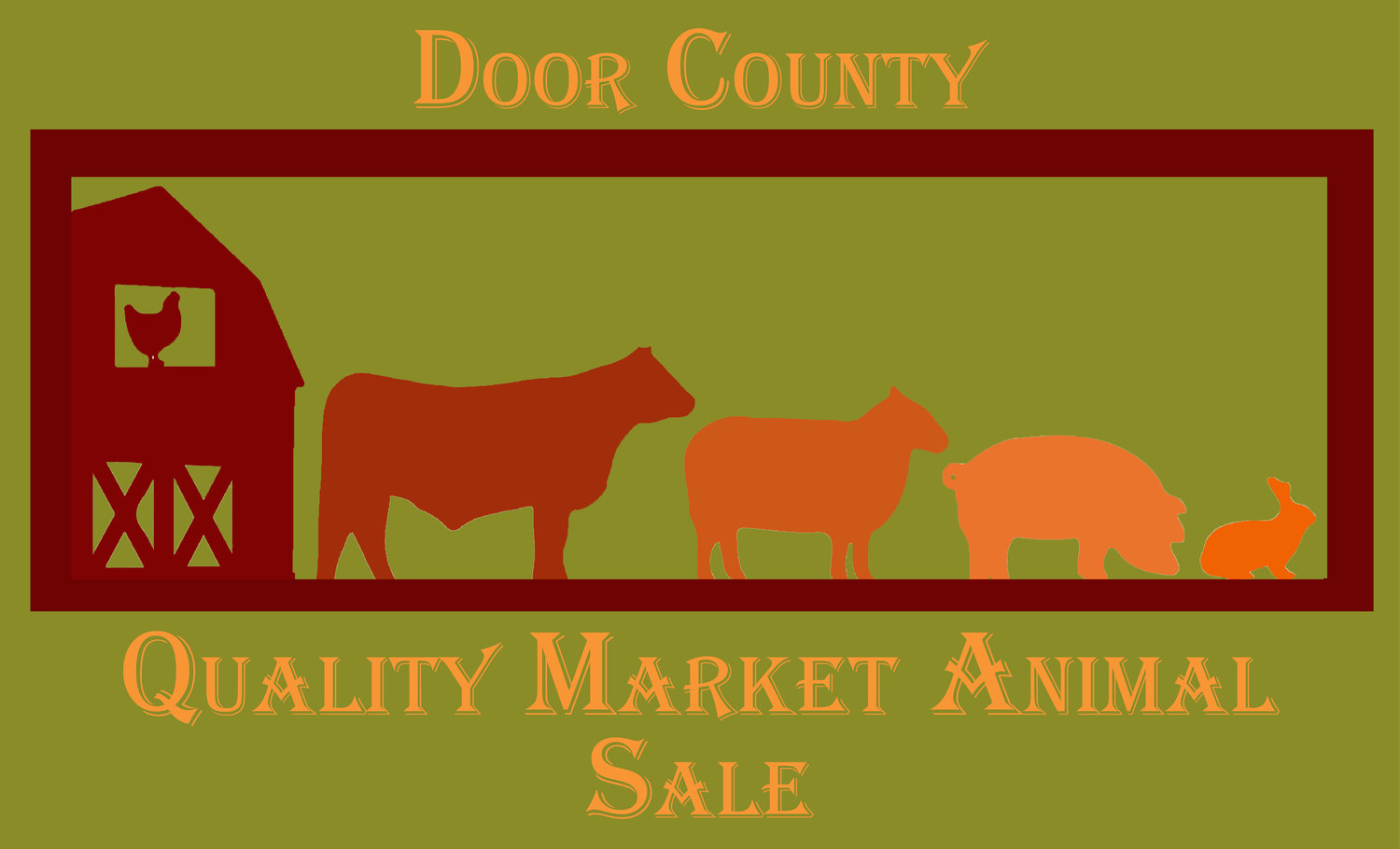 Door County Quality Market Animal Sale